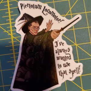 3/$10 LitJoy Crate Professor McGonagall Sticker